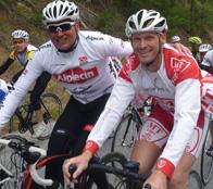 medhealthletics Athleten treffen Jan Ullrich beim Ötztaler Radmarathon