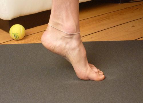 Fußgymnastik Hallux